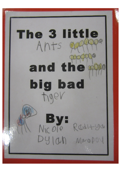 The 3 Little Ants and The Big Bad Tiger