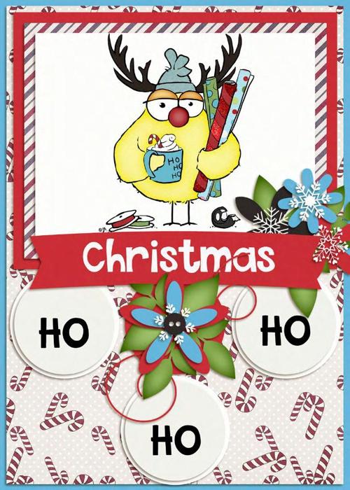 Christmas, Ho, Ho, Ho eCard