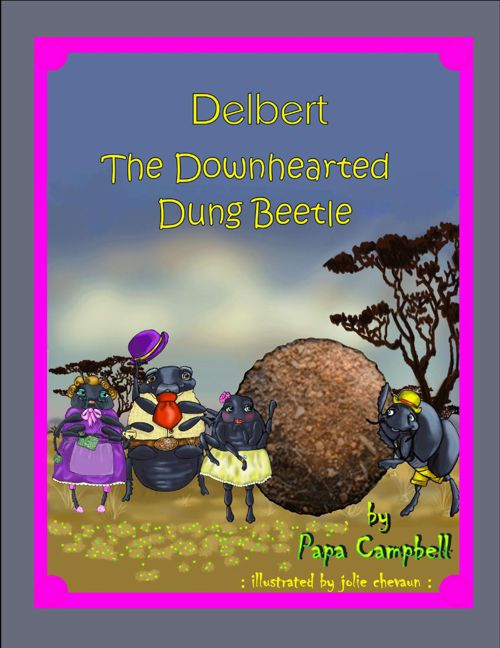 Delbert the downhearted Dung Beetle Children's Bedtime Story Boo