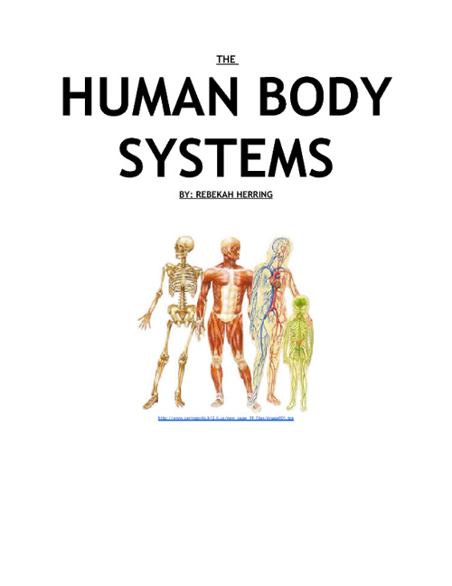 Science: The Human Body Systems Project.