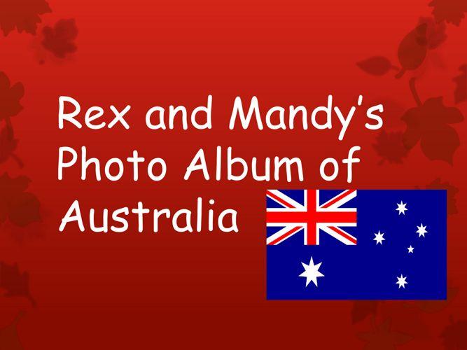 Resource 18 - Rex and Mandy's Photo album of Australia