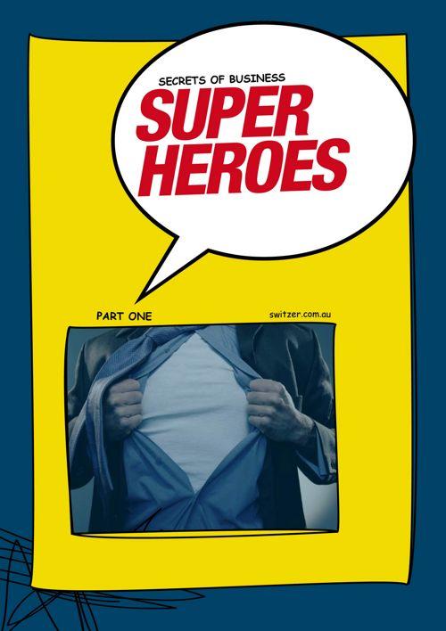 Superheroes e-book