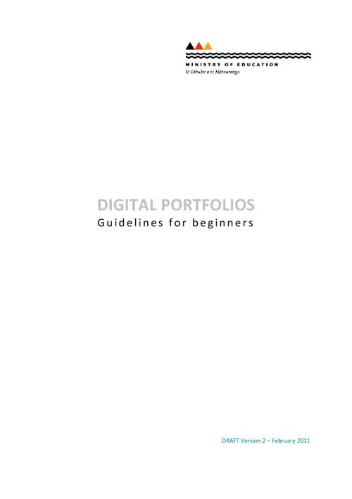 Digital Portfolio Resources