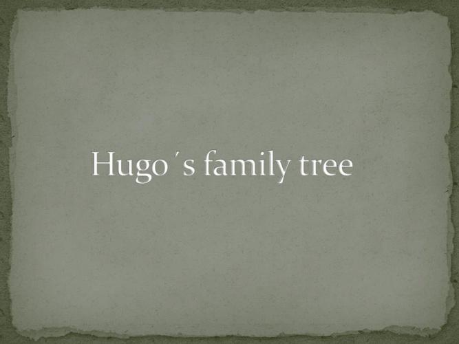 arbol genealogico de hugo