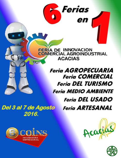 FERIA DE INNOVACIÓN COMERCIAL ACACIAS