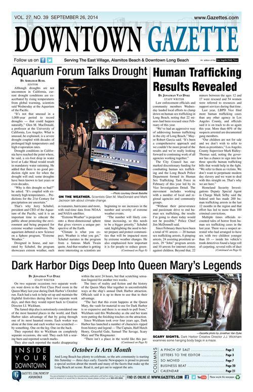 Downtown Gazette     September 26, 2014