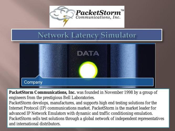 Network Latency Simulator