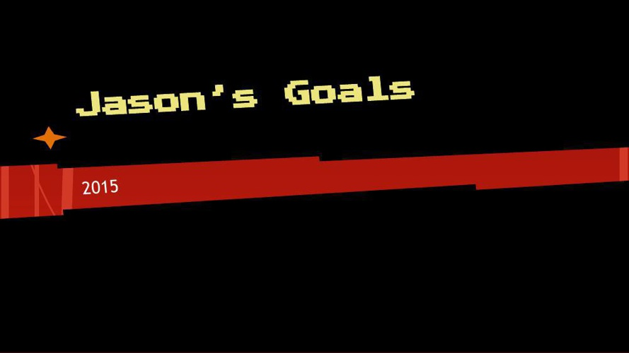 Goal Setting Template Jason McCabe