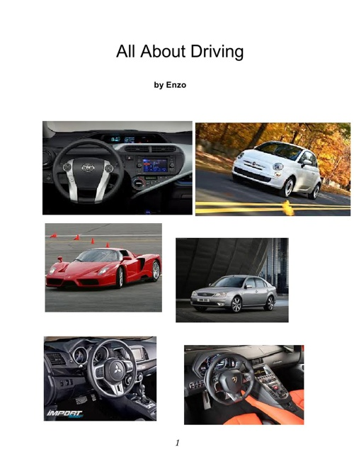 All About Driving - by Enzo