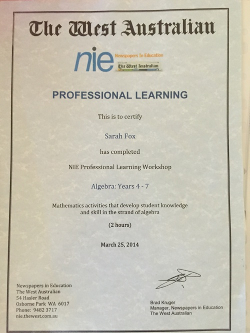 Achievements and Professional Development
