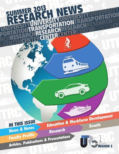 UTRC Summer 2013 Research News