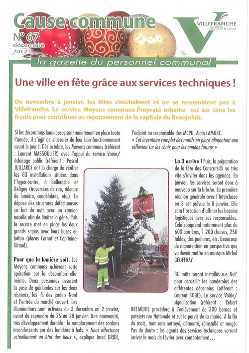 Cause Commune décembre 2012