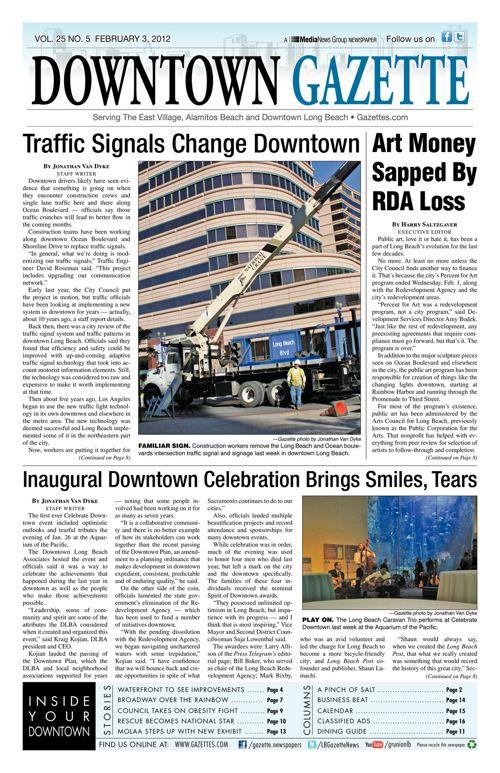 Downtown Gazette  |  February 3, 2012