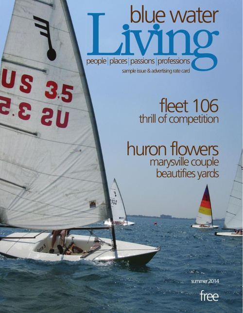blue water living--sample issue--nov 2014