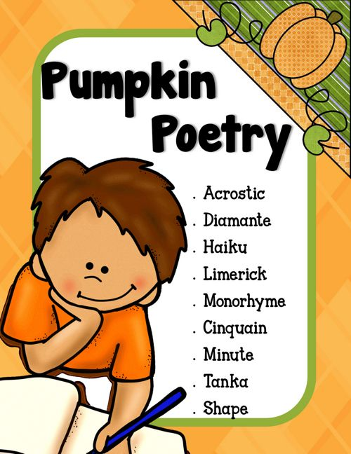 Pumpkin Poetry