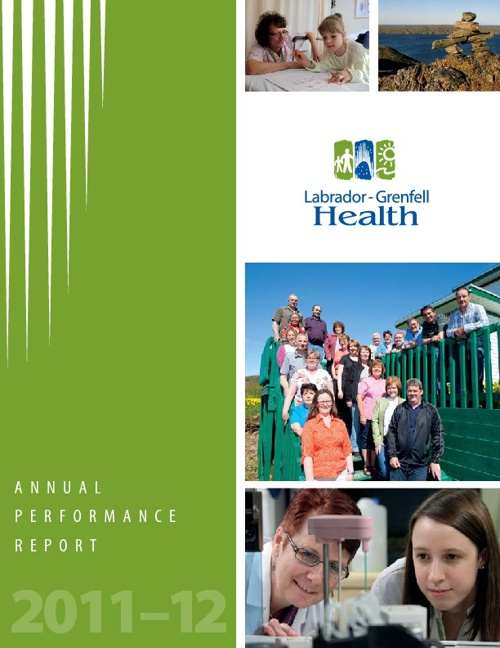 Labrador Grenfell Health 2011-12 Annual Report