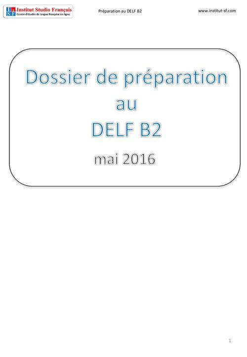 Livre pdf: Préparation au DELF B2