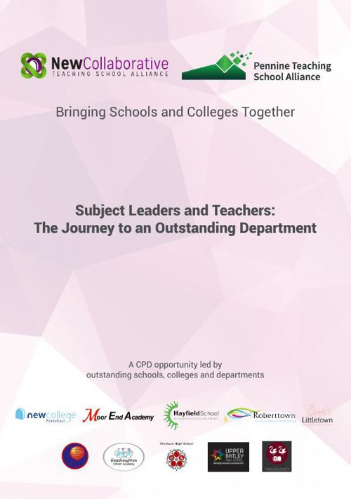 Subject Leaders and Teachers: The Journey to Outstanding