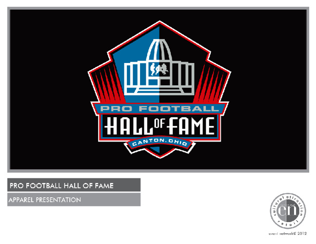 Pro Football Hall of Fame Apparel Presentation