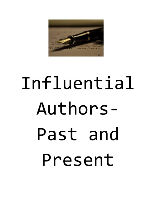 Night of Notables 2013:Influential Authors-Past and Present