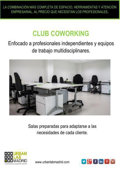Información Club Coworking (ESPAÑOL/INGLES)