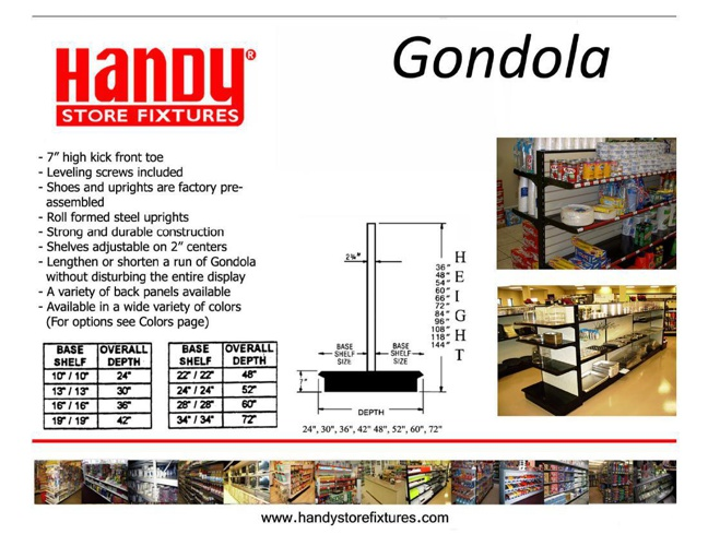 Gondola Shelving Book