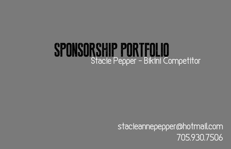 Sponsorship Portfolio