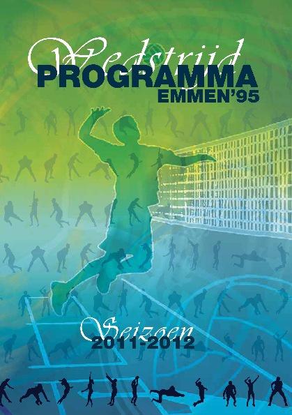 Programma boekje Emmen '95