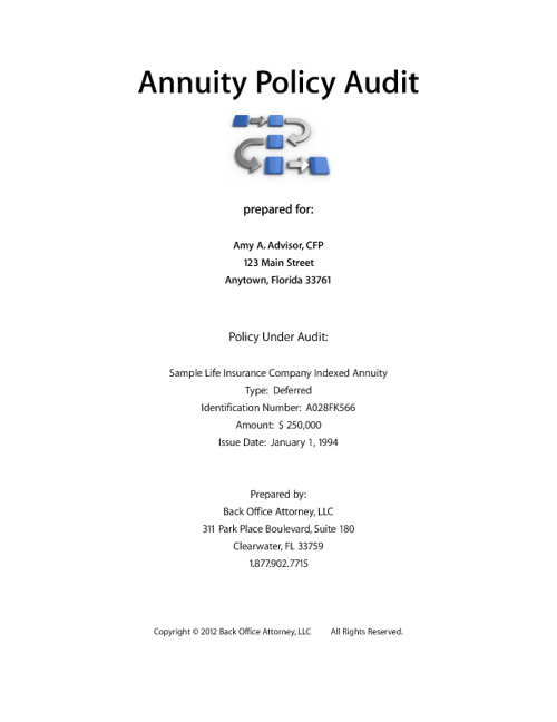 Annuity Audit UNBRANDED