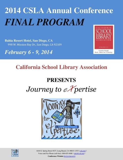 Conference FINAL PROGRAM - San Diego Feb 6-9, 2014