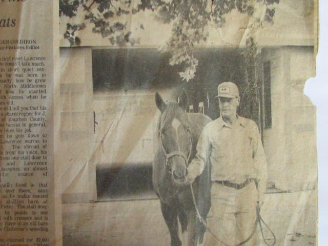 Copy of Lawrence Robinson & Secretariat