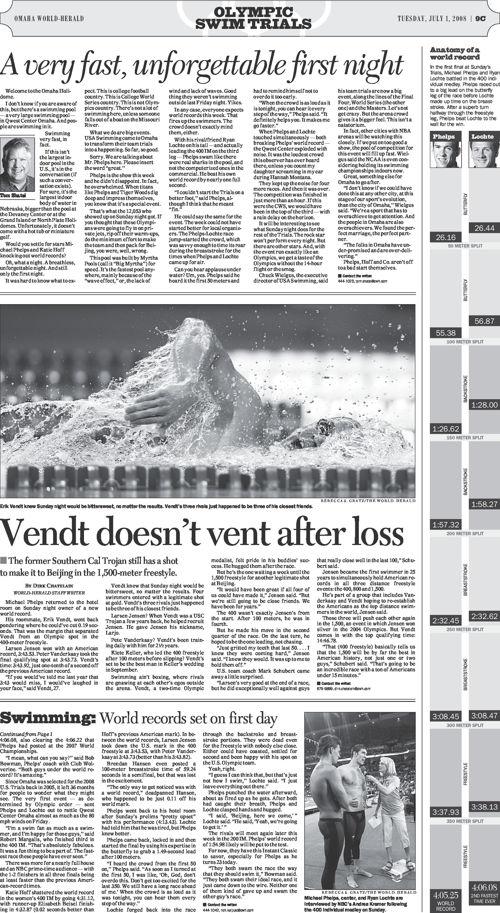 2008 Swim Trials Wrap