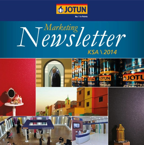 Jotun Marketing Newsletter KSA 2014