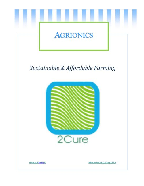 2Cure - Sustainable and Affordable Farming