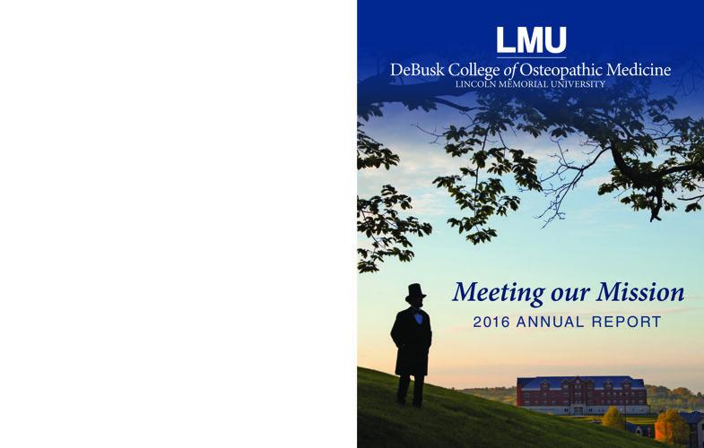 LMU-DCOM 2016 Annual Report