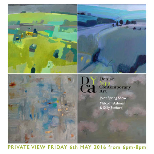 Malcolm Ashman and Sally Stafford joint Spring Show Outline