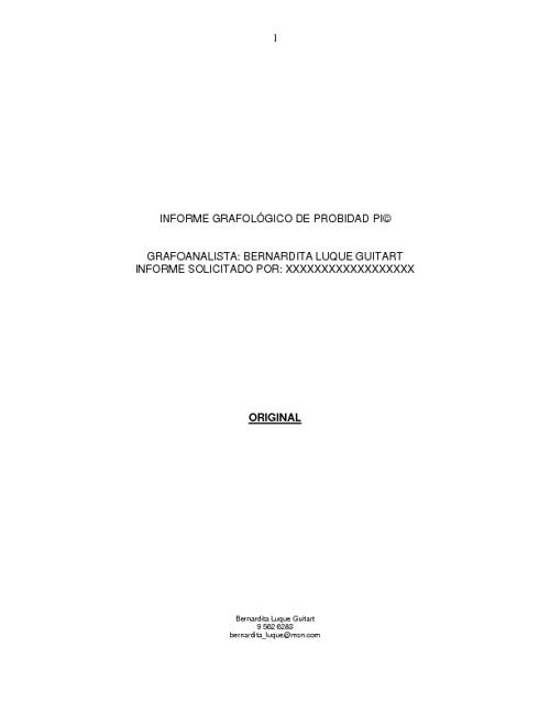 Ejemplo de Informe de Probidad