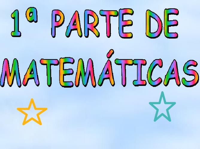 Matematicas  tema 9