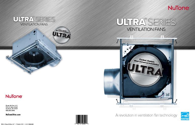 Nutone UltraSeries Super Quiet bath fans