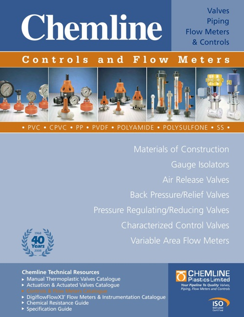Chemline Controls and Flow Meters
