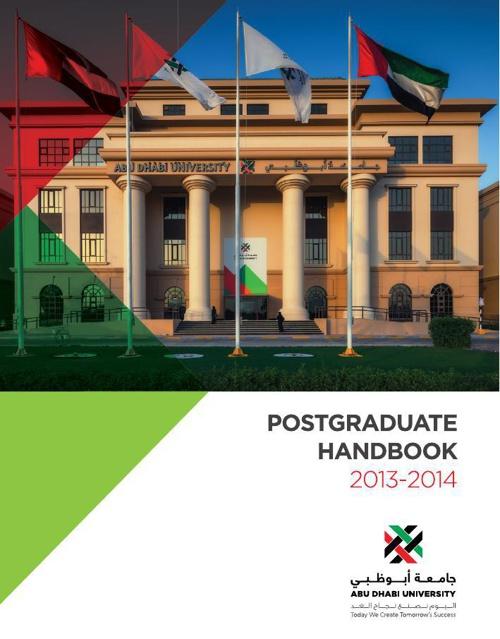 ADU PG handbook
