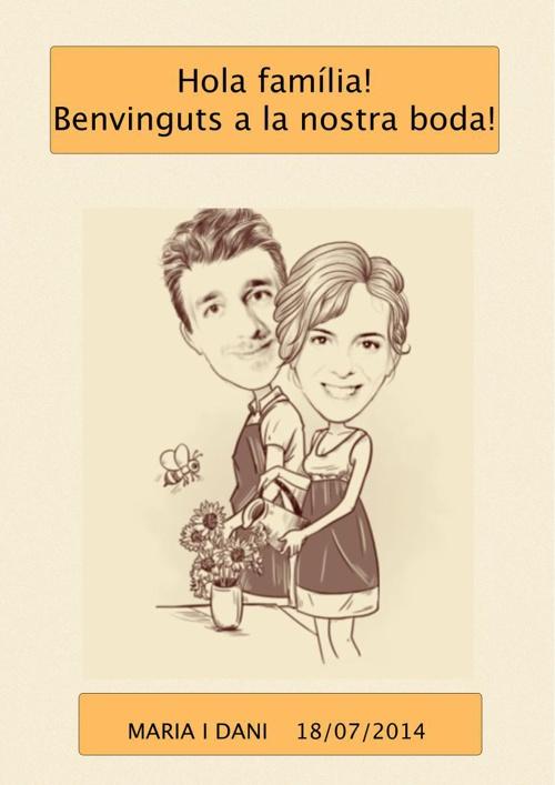 INVITACIÓ BODA MARIA I DANI