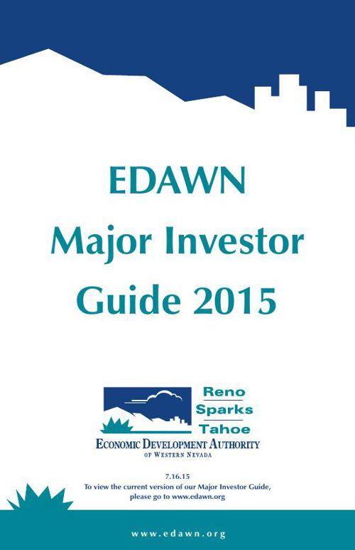 EDAWN Major Investor Guide 2015