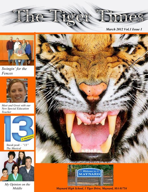 The Tiger Times - First Edition