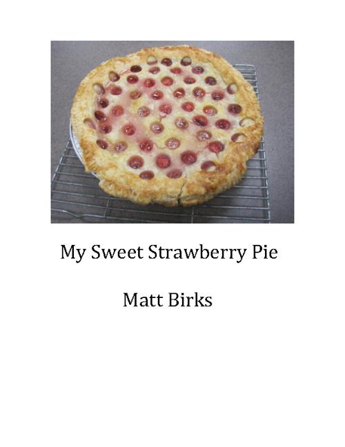 My Sweet Strawberry Pie