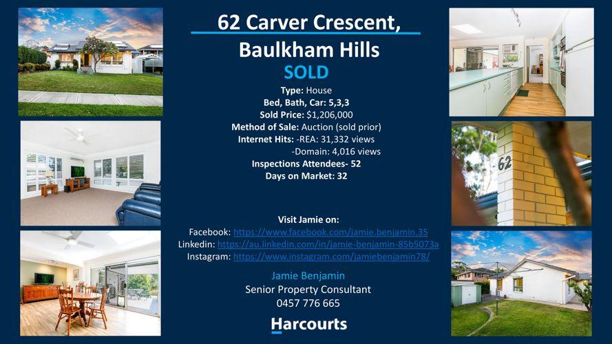 62 Carver Crescent, Baulkham Hills