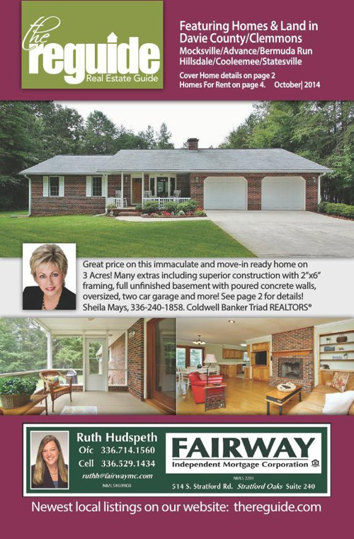 October Davie County Real Estate Guide