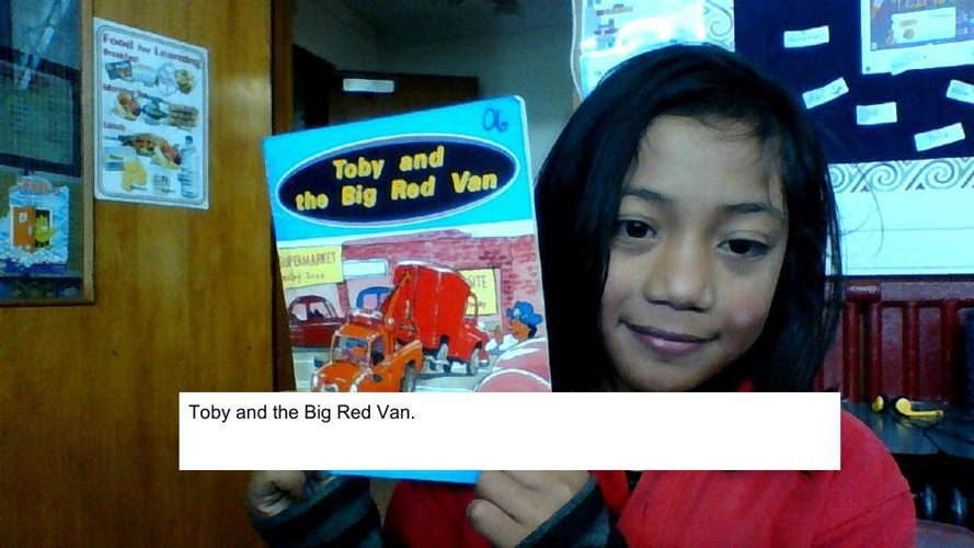 Toby and The Big Red Van - fetuao (1)