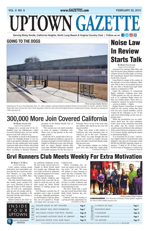 Uptown Gazette  |  February 20, 2015