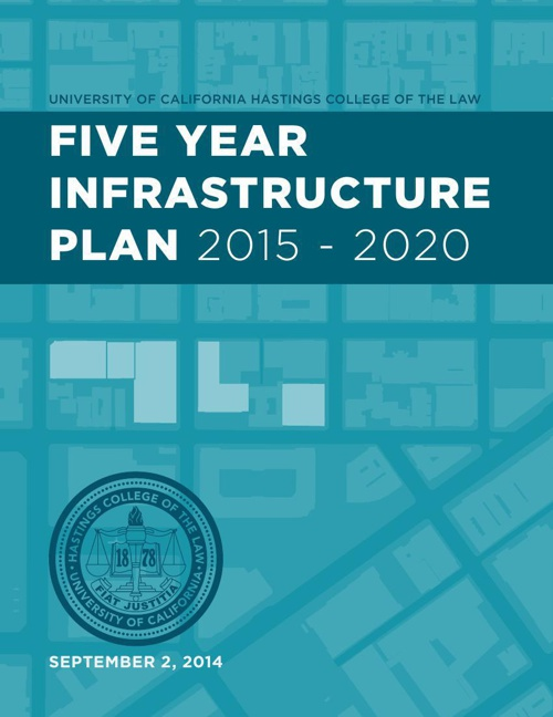 UC Hastings' Five Year Infrastructure Plan